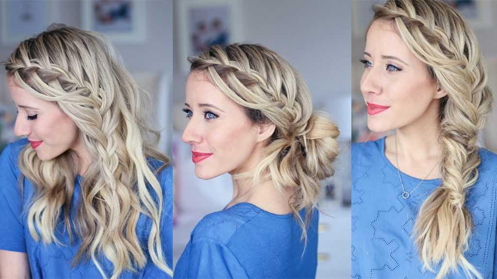 cascada de agua | lindas chicas peinados