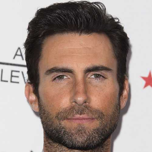 Adam Levine Cabello corto - Comb Over