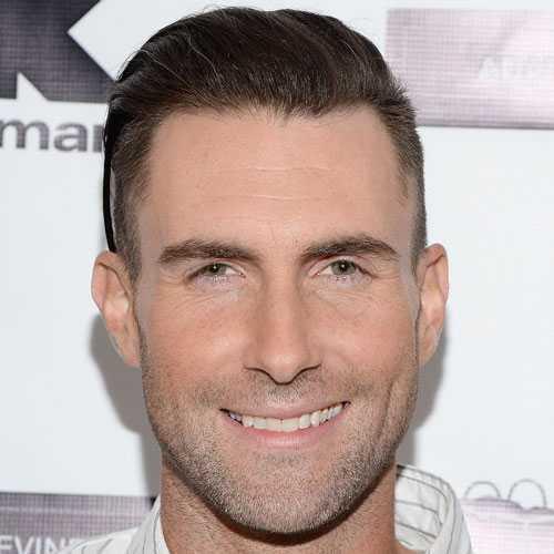 Adam Levine corte de pelo - Afeitado