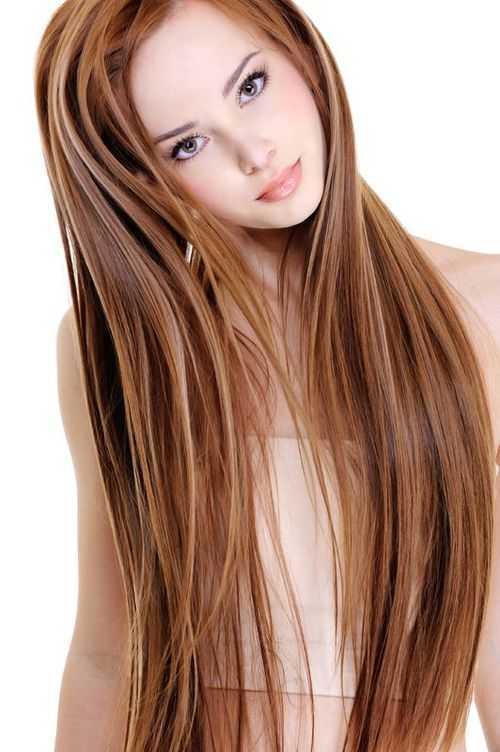 hermosa y de moda peinados para el pelo largo