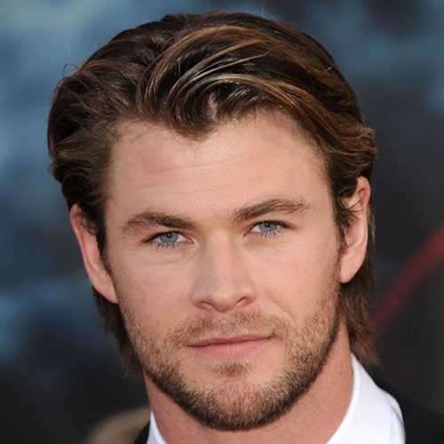 Mejores Peinados Largos Para los hombres de cara redonda