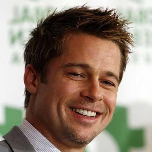 Brad Pitt Cortes de pelo largo