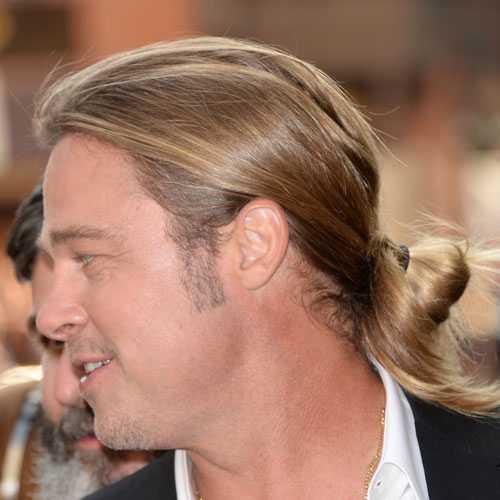 Brad Pitt corte del zumbido
