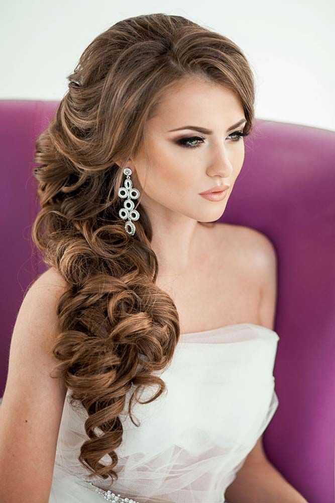 Los peinados de boda de la novia favoritos para el pelo largo