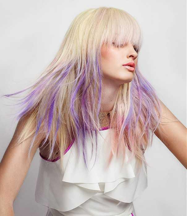 Idea elegante Ombre peinado