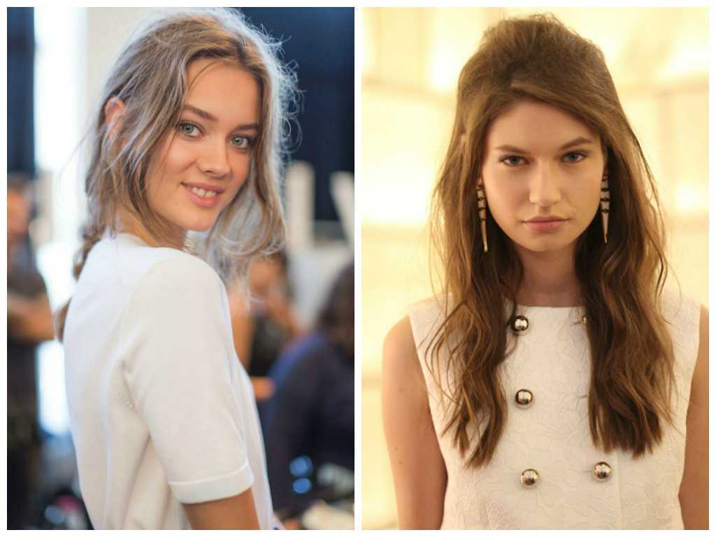 Coming-Un-Done-Hairstyles-Michael-Kors-2015-Hair-Trends