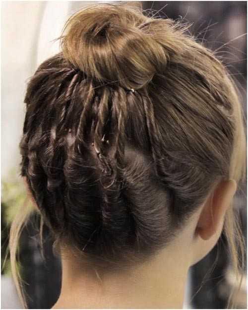 Cool Bollo para el pelo corto