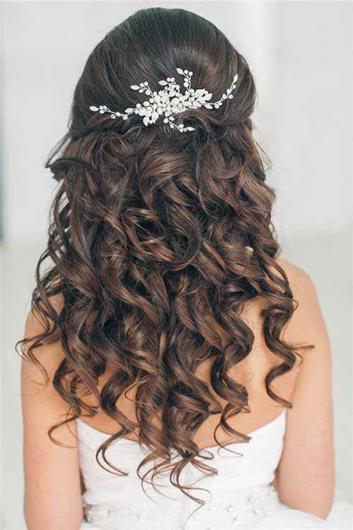 Rizado de Down Prom peinado Volver