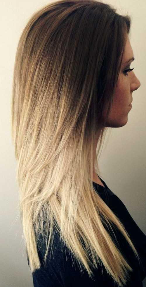 linda Ombre peinado