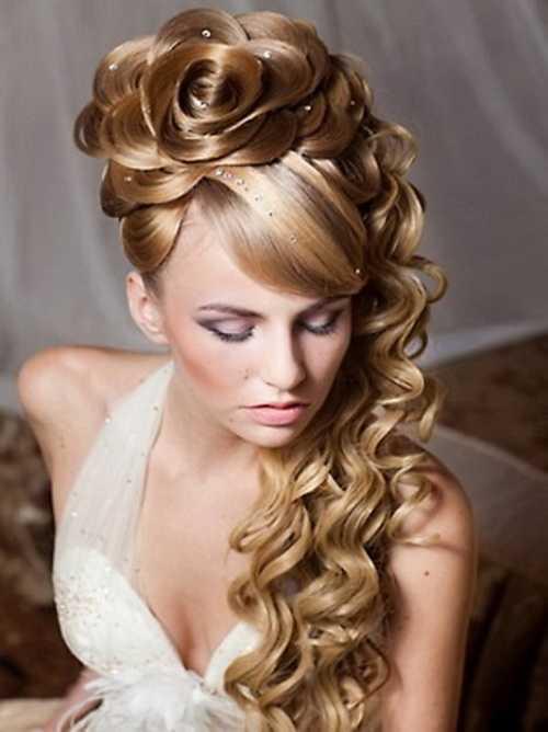 linda Prom peinados de pelo largo