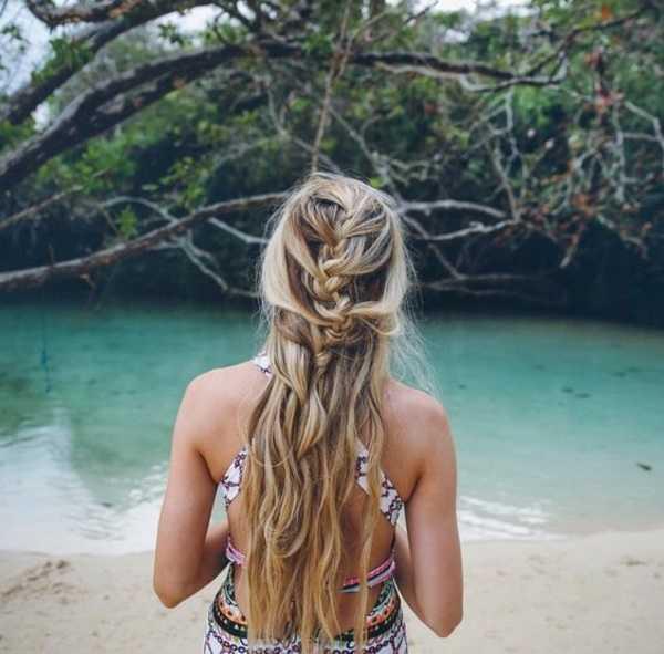 lindo y sucio Beach peinados para Summer0371