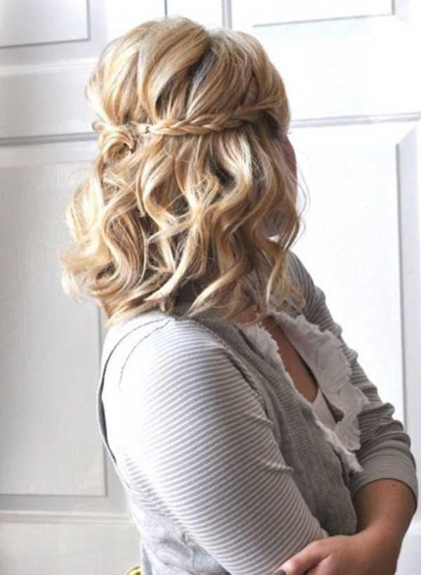 fácil y rápido trabajo peinados para Medio Hair23