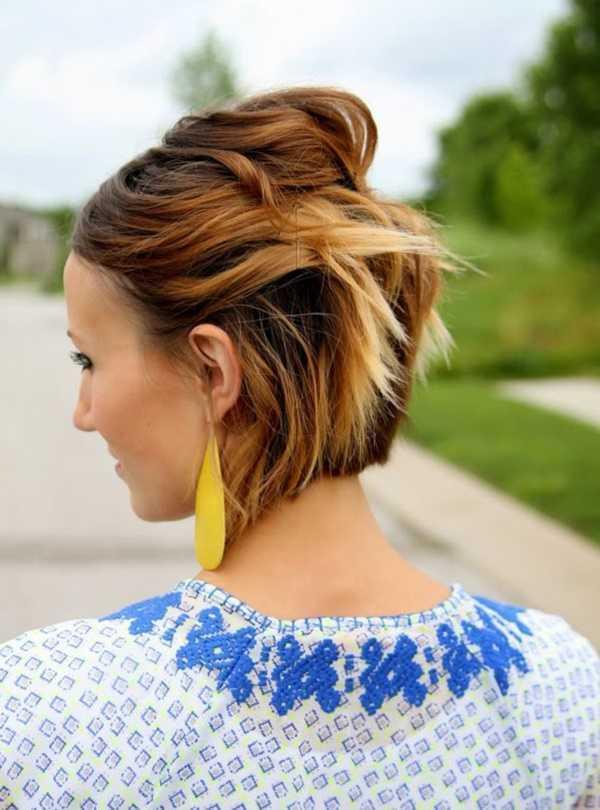 fácil y rápido trabajo peinados para Medio Hair30