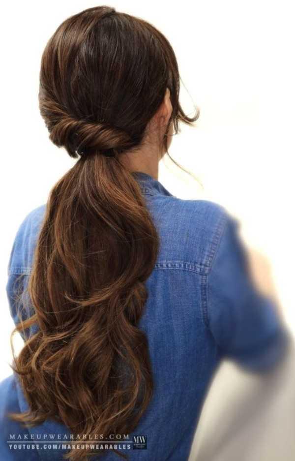 fácil y rápido trabajo peinados para Medio Hair37