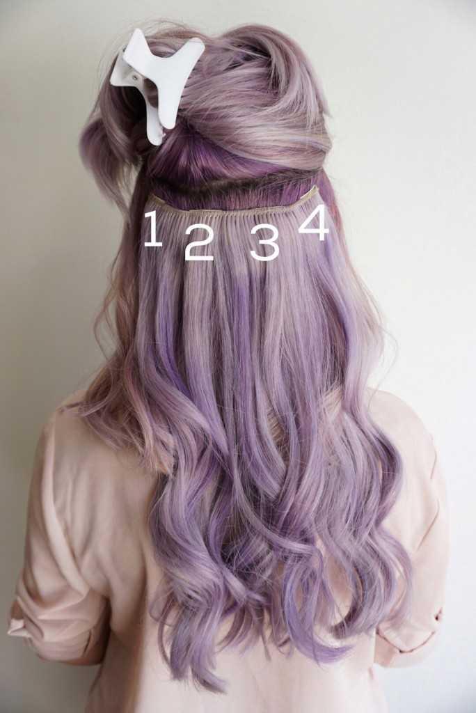 Clip en extensiones de cabello | Tips