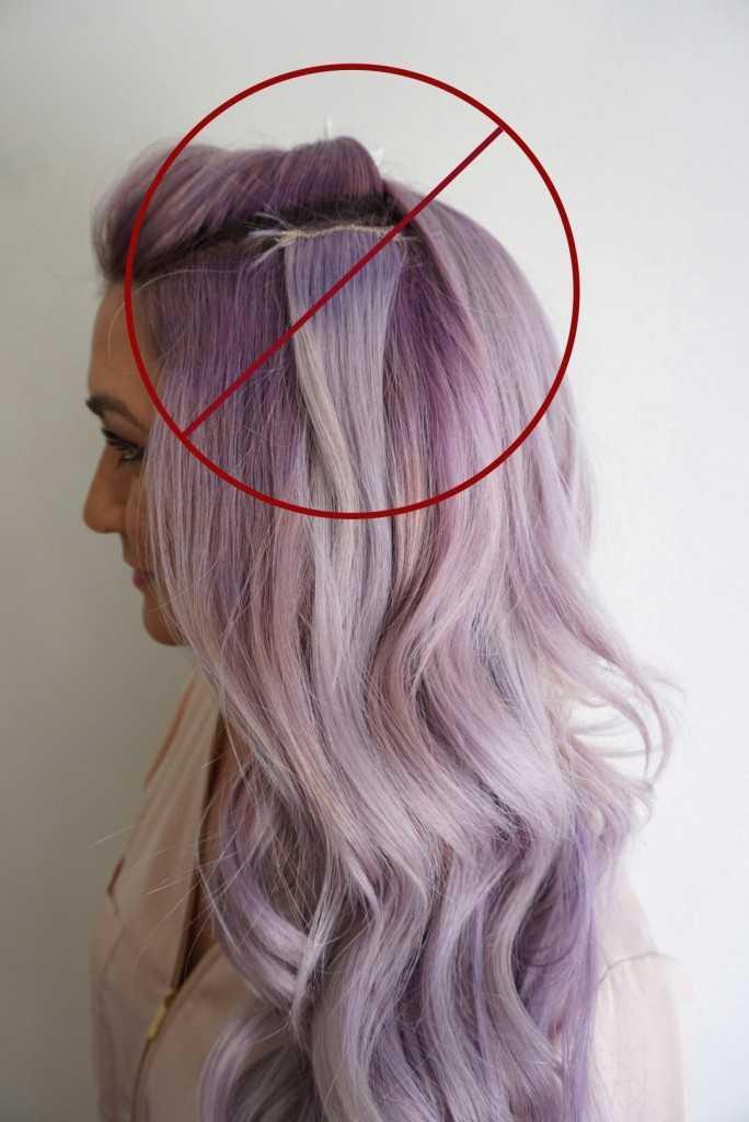 Clip en extensiones de cabello | Errores