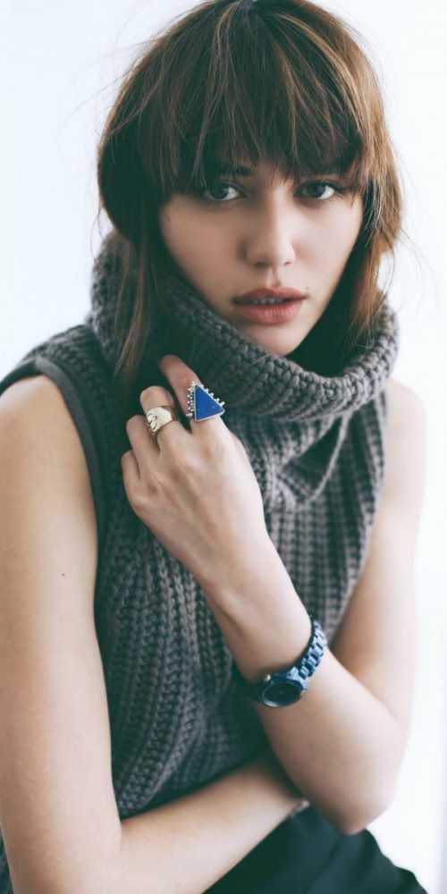 Hair metidos dentro de la ropa: de tendencia para el otoño / invierno 2015-2016