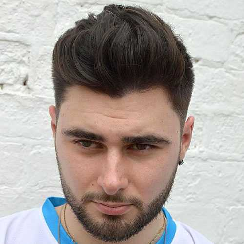Corte de cabello para Individuos con caras redondas