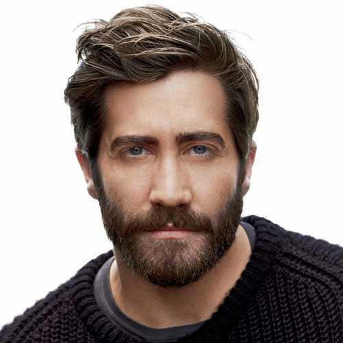 Jake Gyllenhaal con el pelo largo