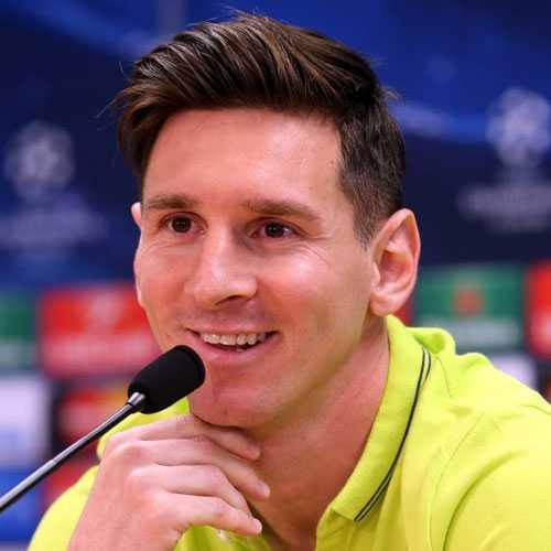 Leo Messi peinados