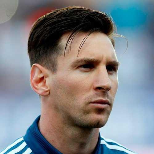 Lionel Messi pelo - Corte de pelo corto