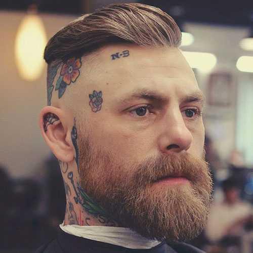 Cortes de pelo de los hombres Para la Ronda Caras