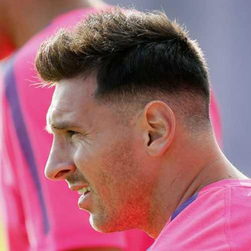 Messi corte de pelo