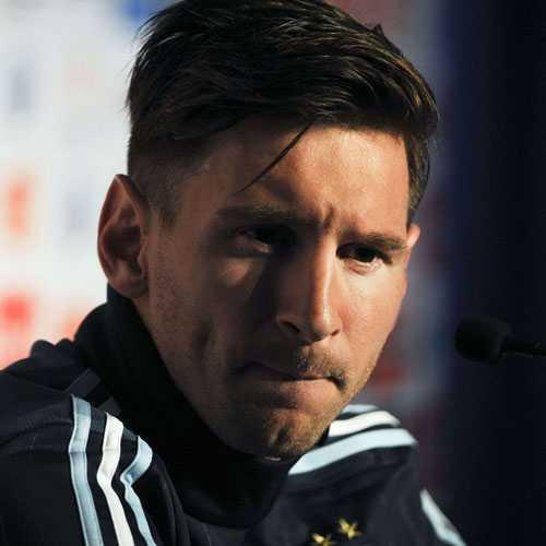 Messi recortes