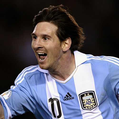 Messi Cabello largo - Fútbol Cortes de pelo del jugador