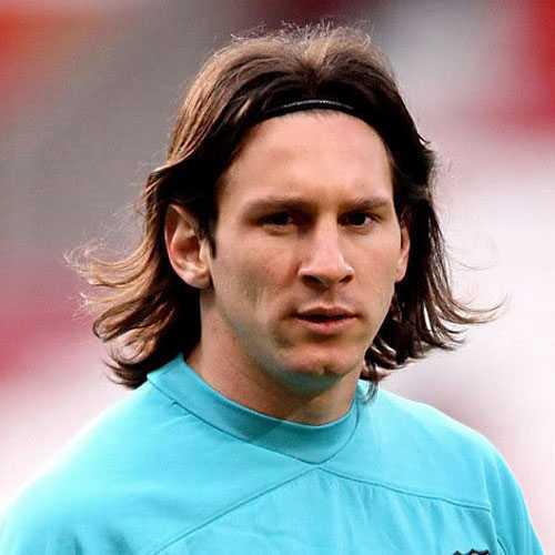 Messi pelo largo