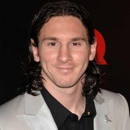 Messi Estilo - pelo largo