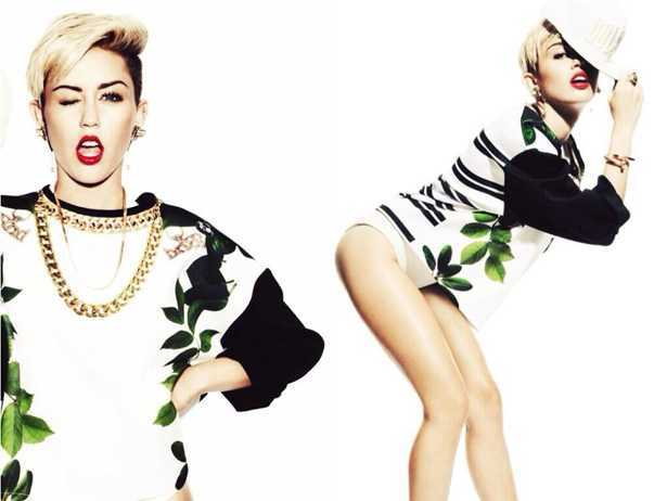 Miley-Cyrus-Hairstyles-Short