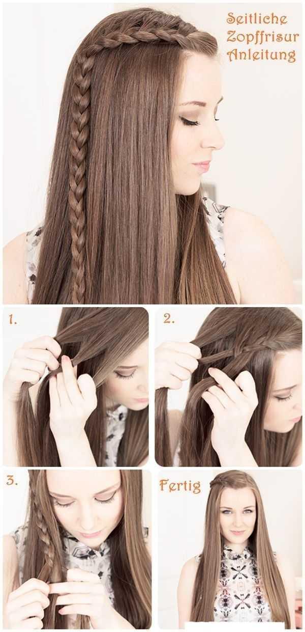 Pretty trenzado Peinado Tutorial para el pelo largo