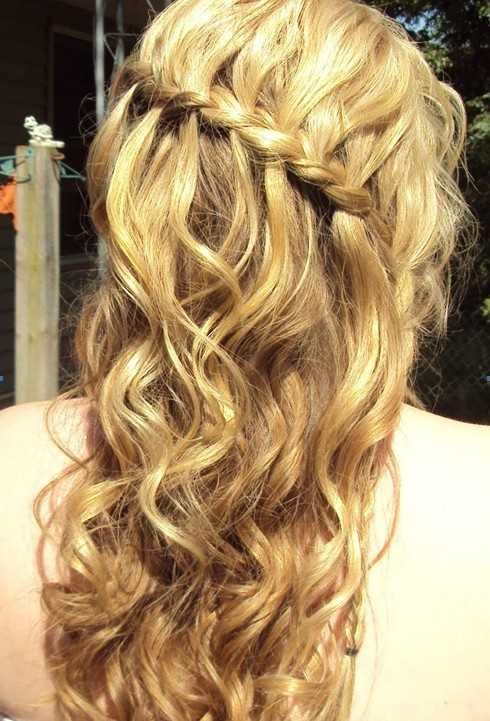 Peinados Prom Ideas para el pelo largo