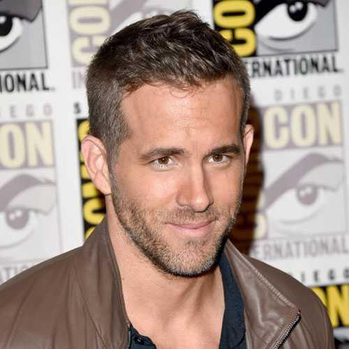 Ryan Reynolds corte de pelo - Corte estilo