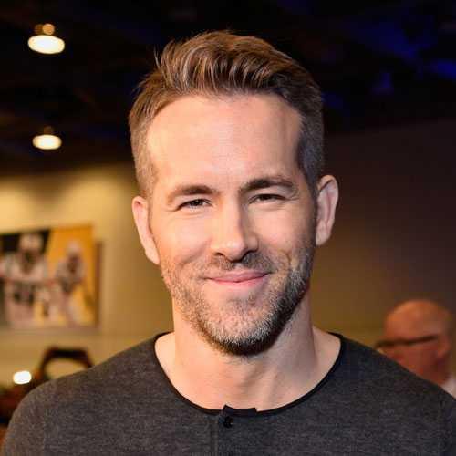 Ryan Reynolds estilos de cabello y de la barba