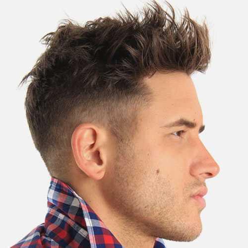 Short Quiff corte de pelo para los hombres