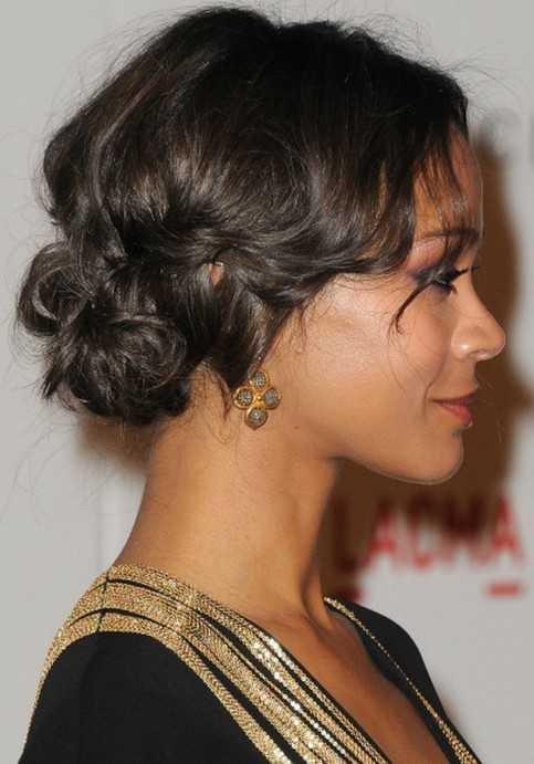 Cara-Vista-de-Prom-peinados-para-Negro-Mujeres