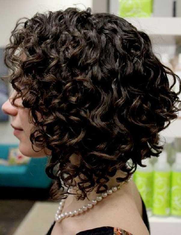 impresionante-rizado corto y cortes de pelo