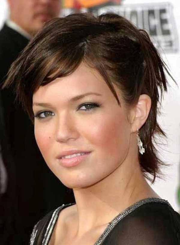 peinados morena magníficas para faces0141 redonda