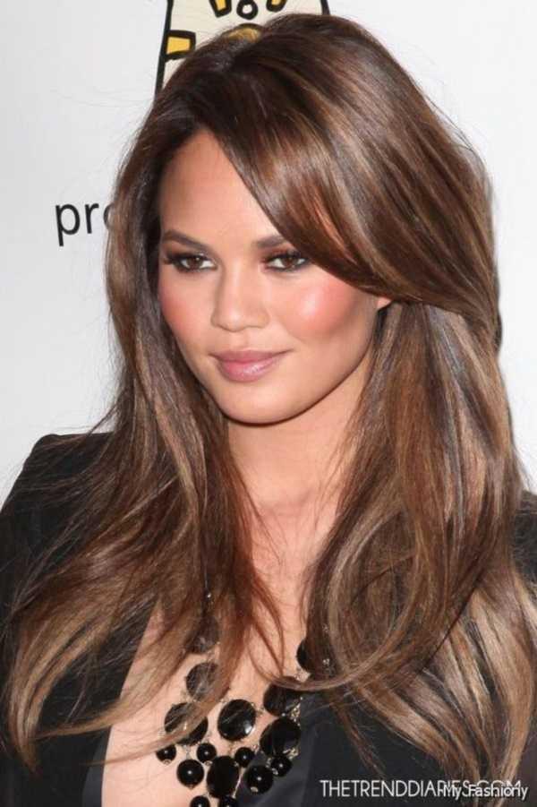 peinados morena magníficas para faces0171 redonda