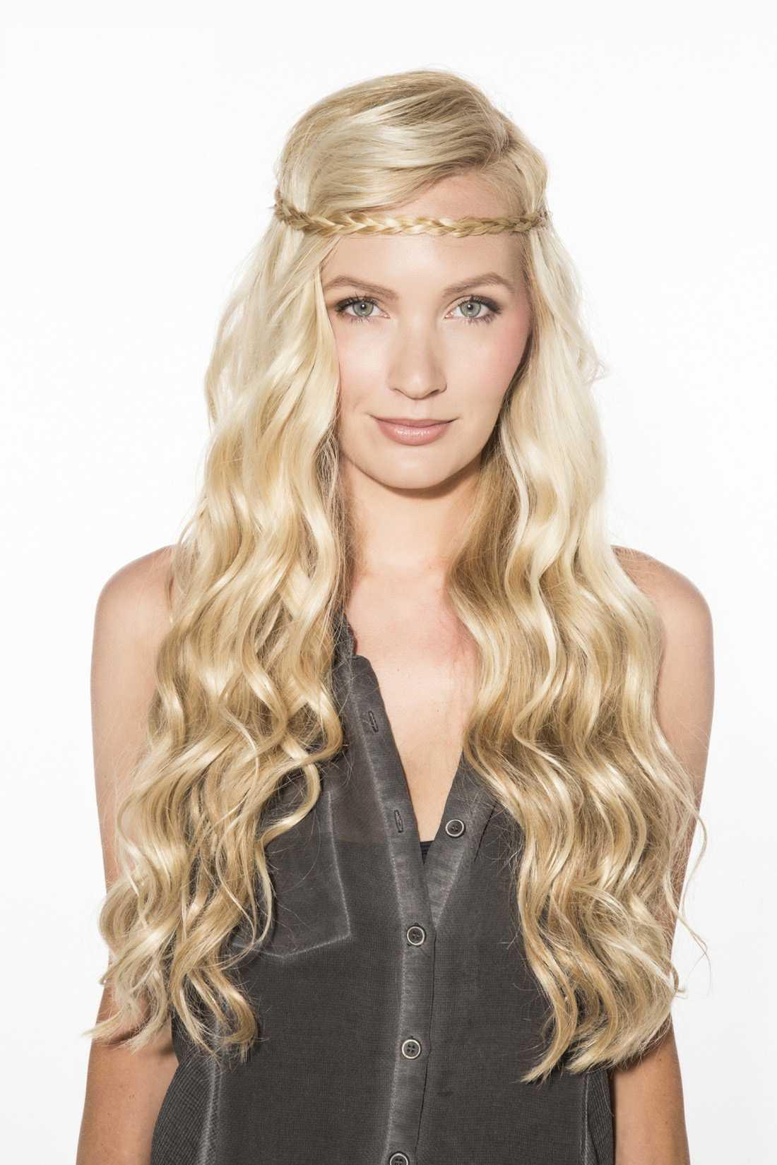 increíblemente sencillos peinados para el pelo largo