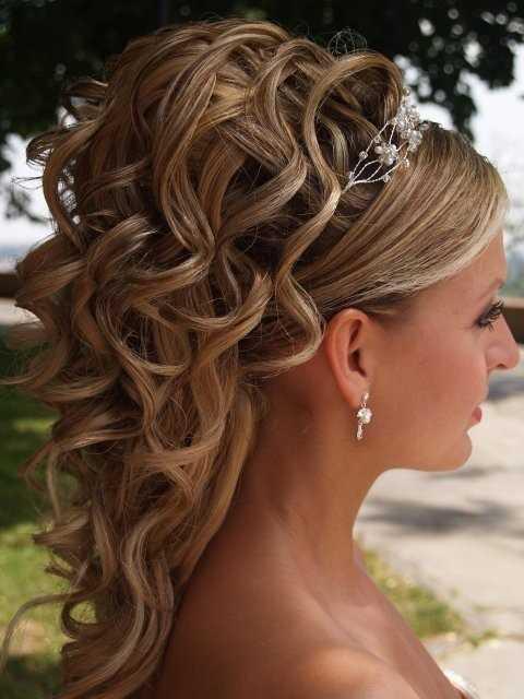 width boda peinado largo del pelo fotos