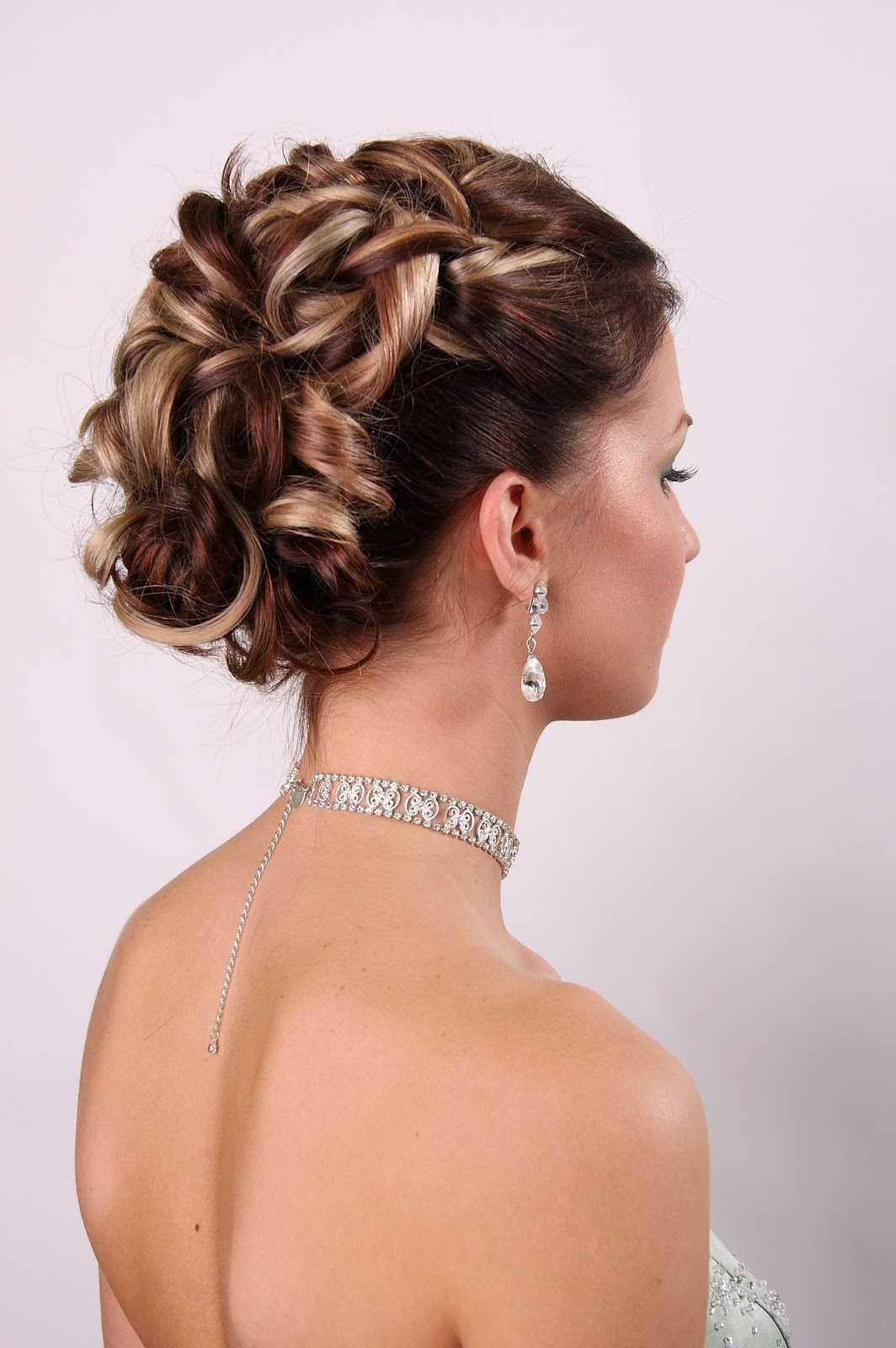ideas de la boda peinado largo del pelo ...