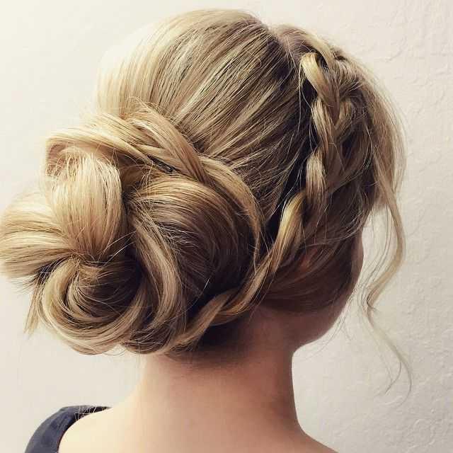 maravilloso Niñas peinado Prom 2016