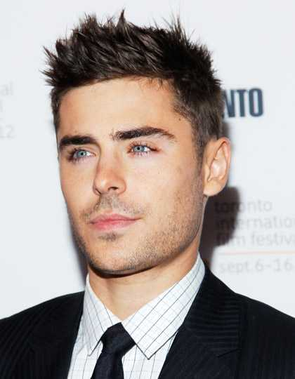Zac-Efron-Spiky-Hair