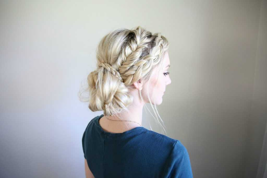 Braid Bun mixtas | Linda chicas peinados