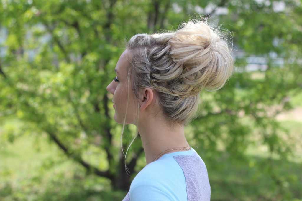 Cascada Bun | lindas chicas Hairsytles