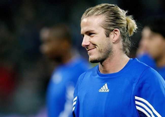 David Beckham hombre bollo