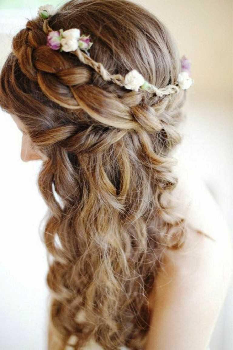 prom peinados para pelo largo imágenes